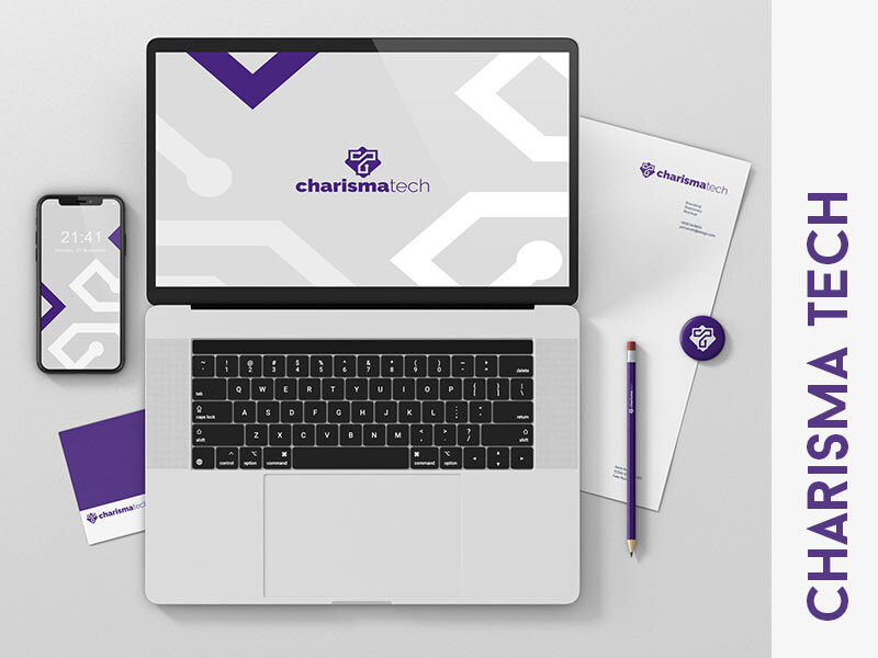 brand identity charisma tech