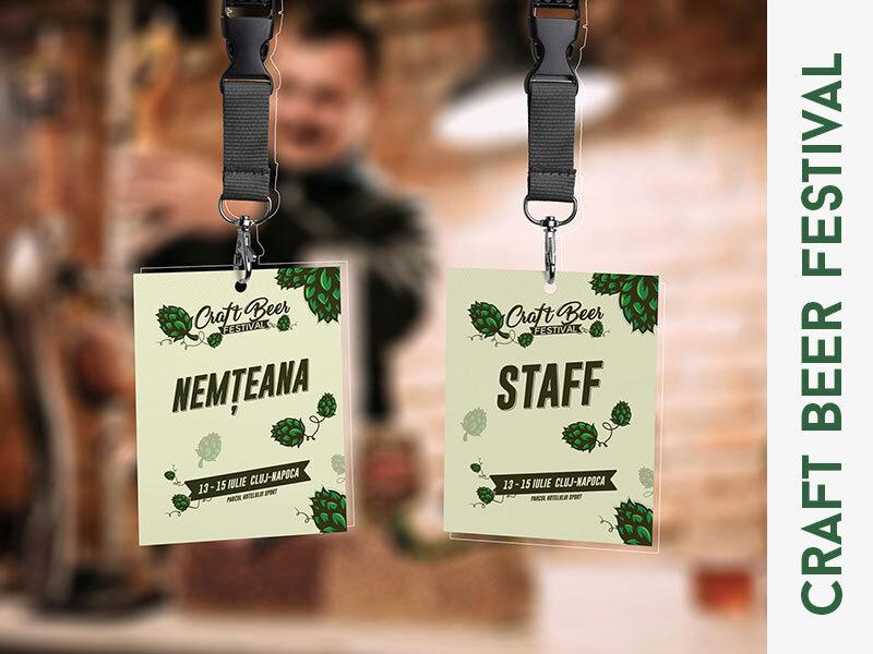 craft beer festival - event design
